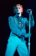 Picture shows_Archive image of David Bowie performing in 1976